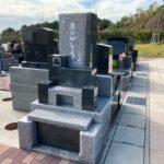 「ファミリーテラス」にインパクトのある素敵なお墓が完成しました!