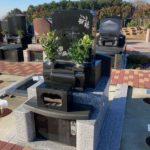 お母様との思い出を引き継がれた、温かい想いのこもったお墓が完成しました!